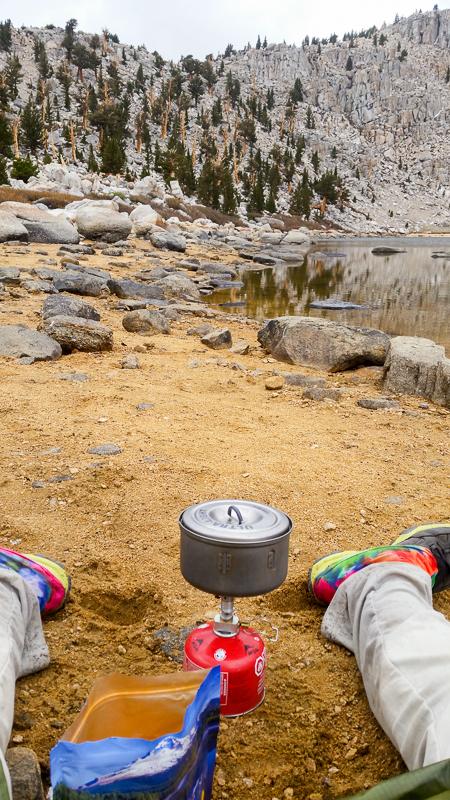 Cooking in the Sierra