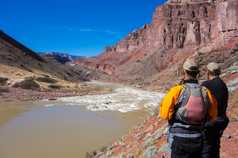 Scouting Hance Rapid
