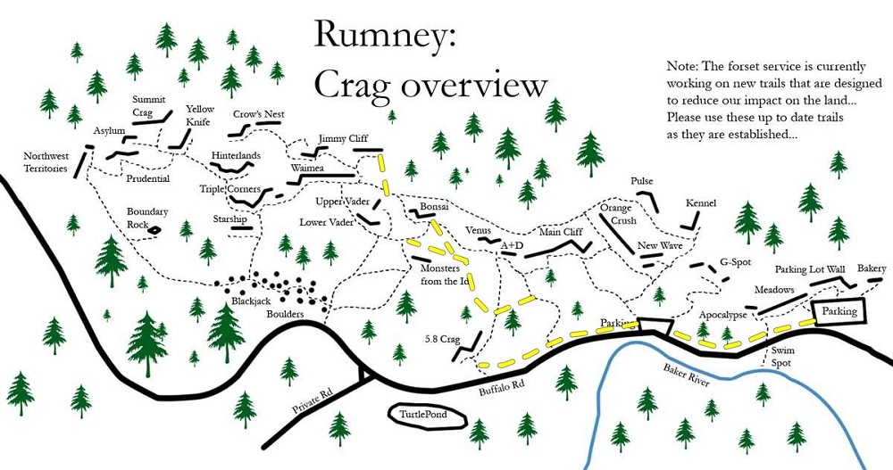 Decent crag overview, a little outdated